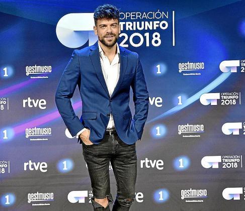 Ricky Merino, de concursante a presentador del chat de 'OT18'.