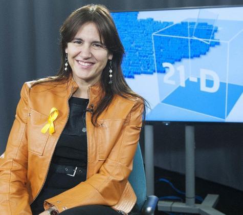 Imagen de Laura Borràs, consellera de Cultura de la Generalitat.