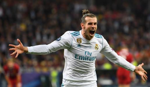 Gareth Bale celebra un gol en la final de la última edición de la Champions League.