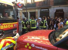 Varios atendidos tras una explosión en la estación de metro Príncipe de Vergara en Madrid