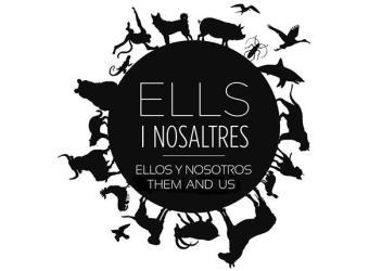 'Ellos y nosotros', una exposición que analiza en Es Baluard la evolución de humanos y animales