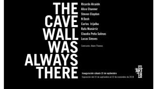 'The cave wall was always there', una colectiva comisariada por Adam Thomas en la galería Pelaires