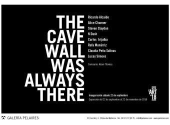 'The cave wall was always there', una colectiva comisariada por Adam Thomas en la galería Pelaires