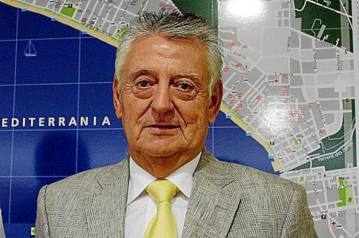 Francisco Marín, presidente de los hoteleros de la Platja de Palma.