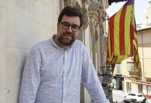 Imagen del alcalde de Palma, Antoni Noguera.