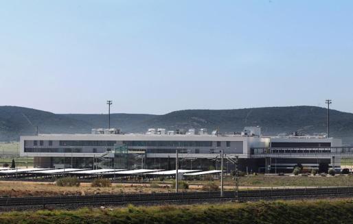Vista del aeropuerto de Ciudad Real.