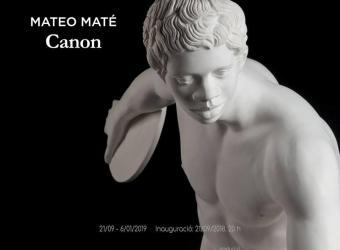 Mateo Maté presenta 'Canon' durante esta Nit de l'Art 2018, en el Casal Solleric