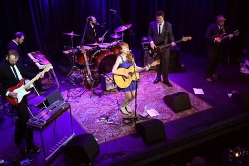 La banda Amanda Anne Platt & The Honeycutters, en un concierto en Es Baluard.
