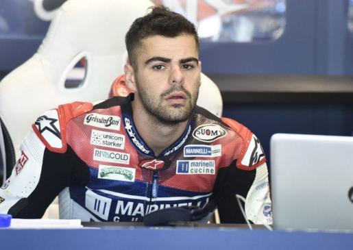 El piloto italiano de Moto2 Romano Fenati, en una reciente imagen.