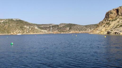 Vista general del parque nacional de Cabrera.