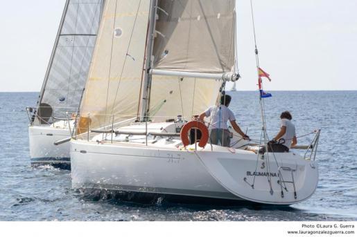 Imagen del Blaumarina, en plena competición.
