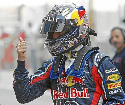 El dominio de Sebastian Vettel y de su Red Bull ha sido absoluto..