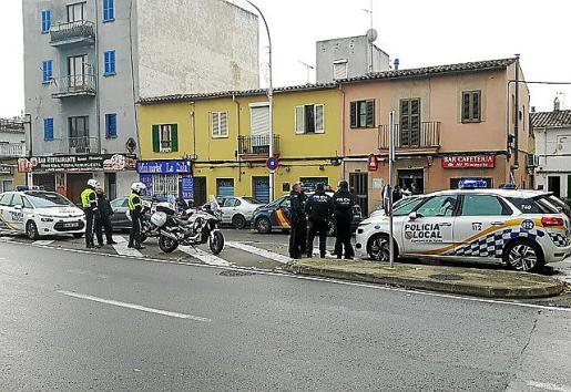 La policíatuvo que intervenir en una nueva pelea en un conflictivo bar de la calle Manacor .