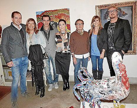 Marcos Ferragut, Gema Muñoz, Nando Torres, Marga Coll, Jaume Llabrés, Cati Munar y Jaime Roig de Diego.