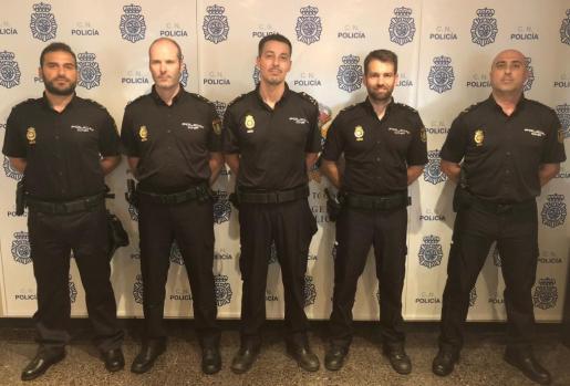 Imagen del grupo de Delitos Tecnológicos de la Jefatura Superior de Policía en Baleares.