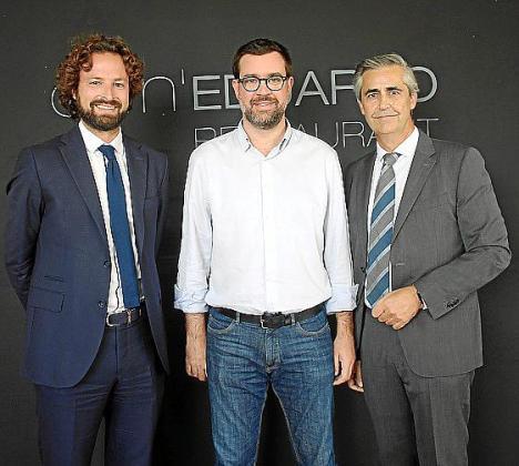 Cyril Piquemal, Antoni Noguera y Michel Magnier.