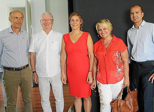 Almuerzo organizado por el Consulado de Francia con el alcalde de Palma