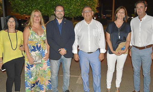 Antònia García, Eva Serra, David González, Alfonso Rodríguez, Nati Francés y Javier Arrizabalaga.