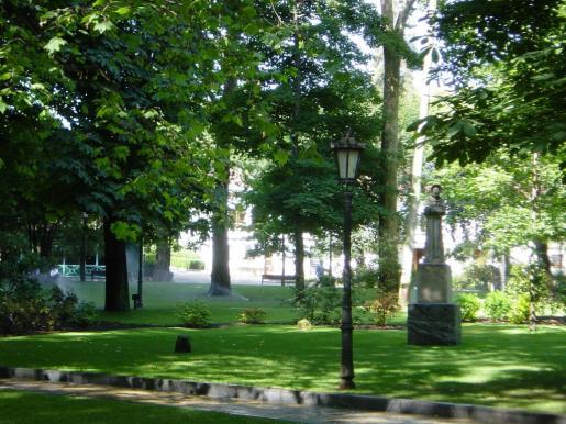 Parque San Francisco, en Oviedo.
