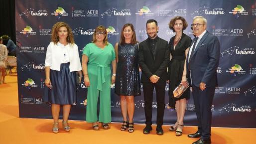 Imagen del acto de entrega de los premios de turismo entregados ayer en Ibiza.
