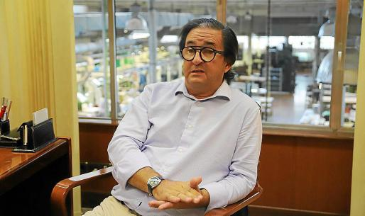 Fernández de Salort preside también el comité organizador del Momad Shoe.