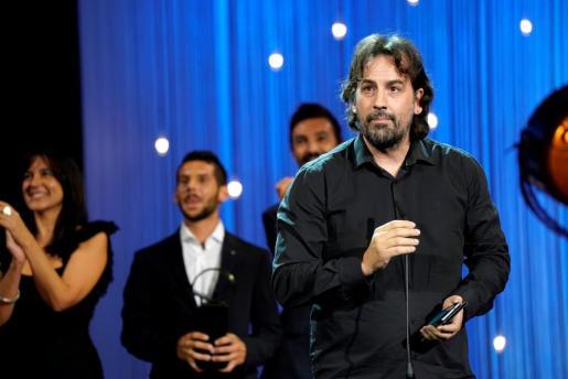 El director Isaki Lacuesta, durante la gala del Festival de San Sebastián.