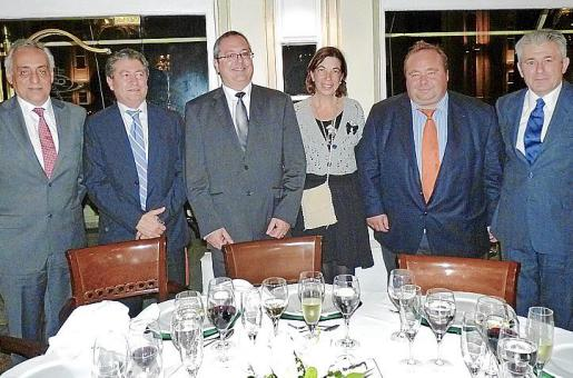 Miguel Ángel Ayuso, Joan Font, Aniceto Fornaris, Margarita Payeras, Onofre Martorell y Valentí Pich.
