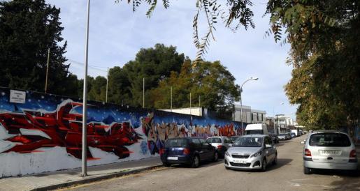 Imagen de una de las calles de Son Gotleu.