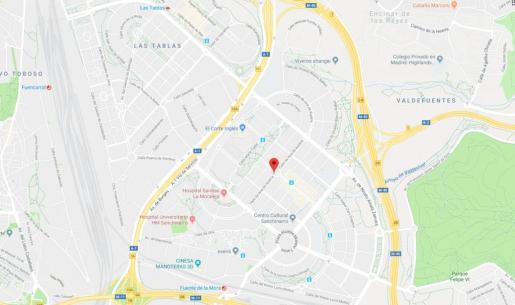 El terrible suceso ha tenido lugar en la calle Ana de Austria, en Madrid.
