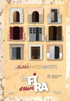 Cartel de la Fira de Tardor de Alaró 2018.