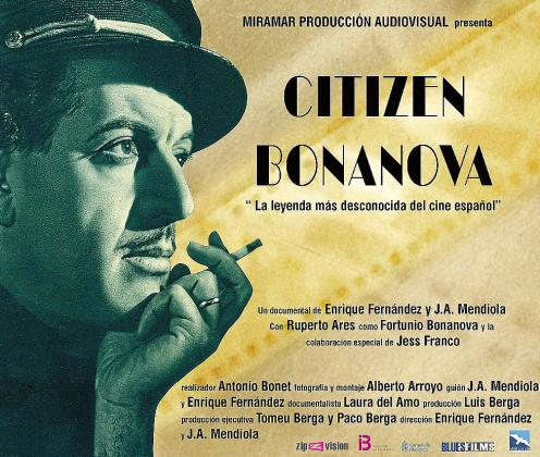 Cartel promocional del largometraje documental 'Citizen Bonanova'.