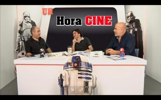 Jaume Vaquer, Enric Elosúa y Rafael Vaquer durante Hora Cine.