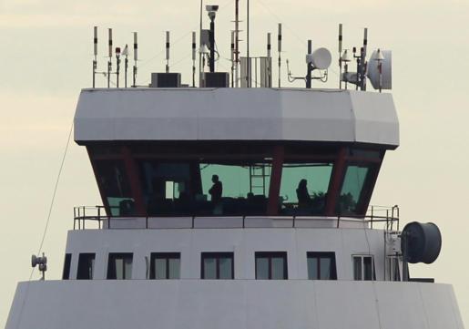 Imagen de una torre de control.