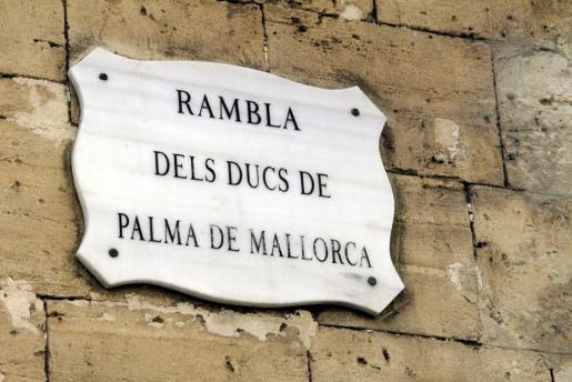 Rambla dels Ducs de Palma.