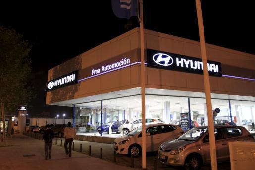 El nuevo concesionario Hyundai está ubicado en la calle Aragón de Palma