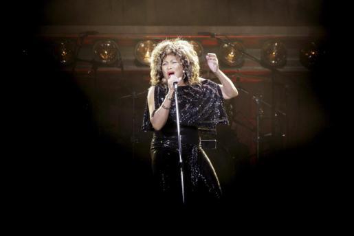 Imagen de archivo de la cantante estadounidense Tina Turner durante un concierto.