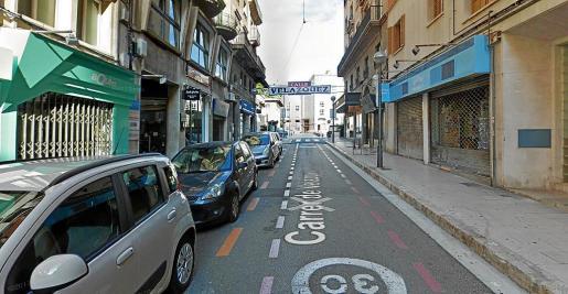 Cort peatonalizará la calle Velázquez, lo que supondrá una reducción de más plazas de aparcamiento.
