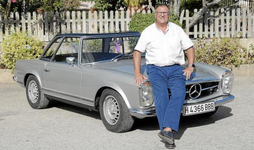 Pedro Avellano es el propietario de este Mercedes 280 SL Pagoda de 1969 que adquirió en agosto de 2015 en Francia y que estaba en muy buenas condiciones