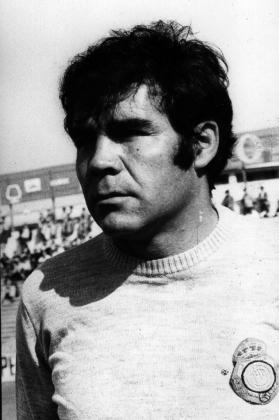 Juan Heredia en su etapa como jugador del Real Mallorca.