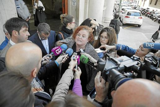 La exconsellera Ruth Mateu dimitió antes de ser imputada y declaró en un juzgado ordinario.