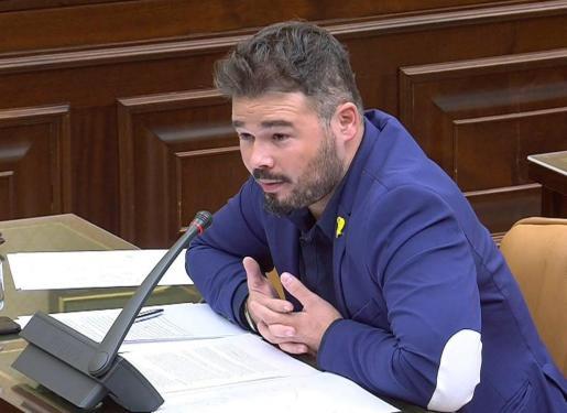 E diputado de ERC Gabriel Rufián.