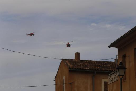 Los drones están molestando la labor de los helicópteros.