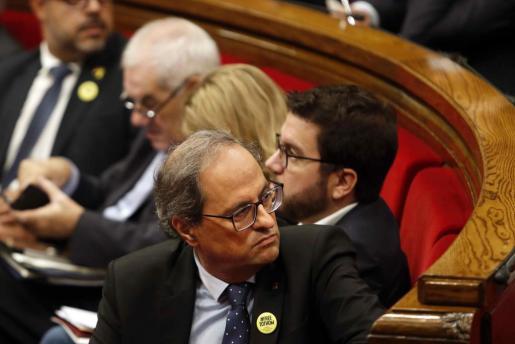 Gesto simbólico de la Generalitat con el dolor de las víctimas de las inundaciones del Llevant de Mallorca.
