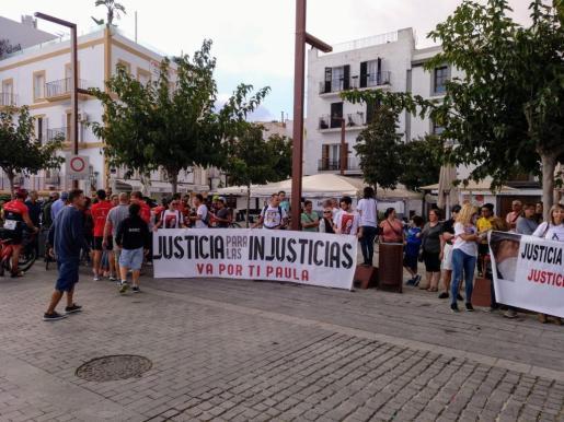 Una imagen del acto que se ha celebrado este sábado en Ibiza.