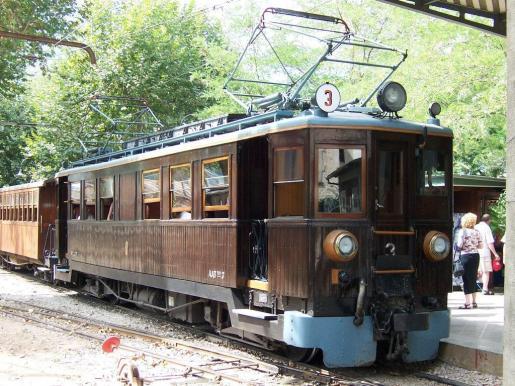 Imagen del Tren de Sóller.