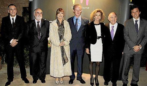 Joan Manuel Quetglas, Pere Pascual, Pebbles Robertson, Mike Day, María José Barceló, Tomeu Català y Mateu Isern.
