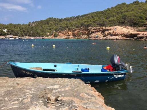 Imagen de archivo de una patera en Mallorca.