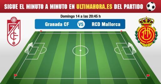 El Real Mallorca visita al Granada en la novena jornada de la Liga123.