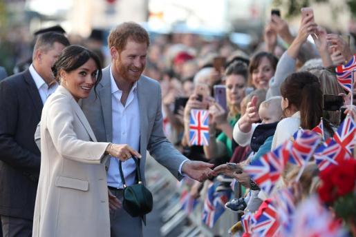 Los duques de Sussex, Enrique y Meghan, se casaron el pasado mayo en la capilla de San Jorge del castillo de Windsor, a las afueras de Londres
