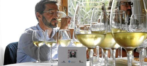 Cincuenta profesionales relacionados con la viticultura han participado en una mesa redonda sobre estrategias de comercialización del Vi de la Terra Illa de Menorca.